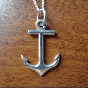 Tiffany and co Rare Anchor Necklace